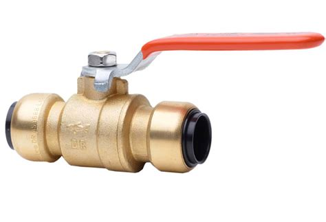 Copper Valves Plumbing by Copper Valves Brass Bodied Isolation Valve By Sharkbite