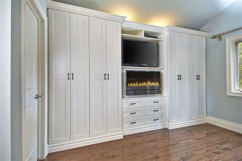Antique White Wall Unit   Contemporary   Toronto   by