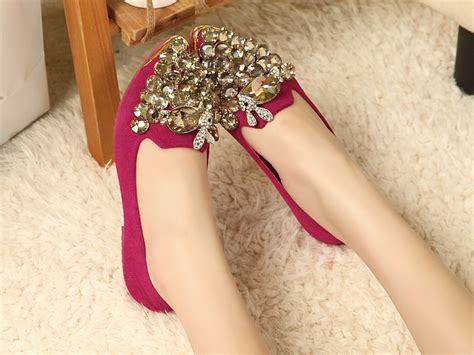 flat wedding shoes with bling flat wedding shoes with bling shining your look