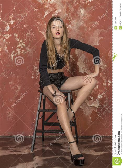 Hairy legged girl