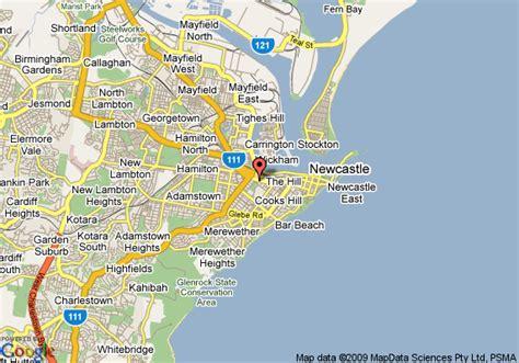 newcastle australia map map of hotel ibis newcastle newcastle
