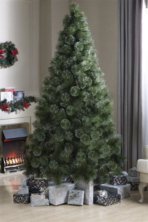 12 foot majestic christmas tree 4ft green majestic tree gold glitter tips 163 19 99 picclick uk