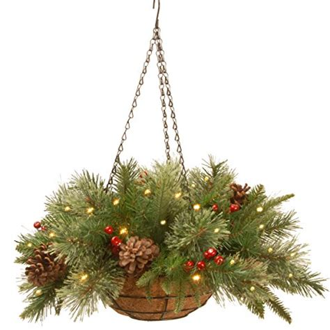 hanging baskets with lights best hanging baskets with lights