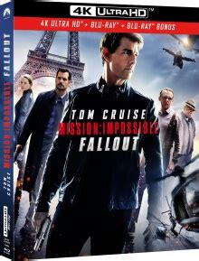 mission impossible fallout en french dvd mission impossible fallout tests blu ray 4k ultra hd