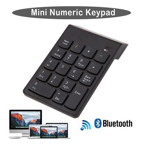 Keyboard Numeric Wireless Mini Bluetooth 3 0 Numeric Keypad Wireless Number Pad 18
