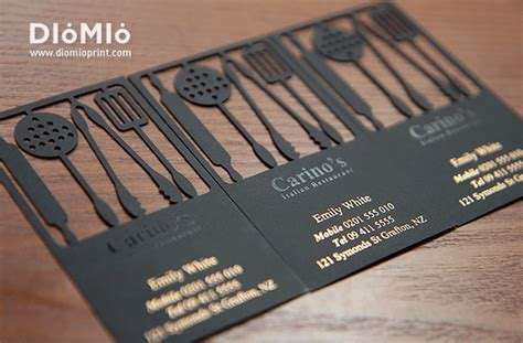Best Restaurant Gift Card - food business card ideas best business cards
