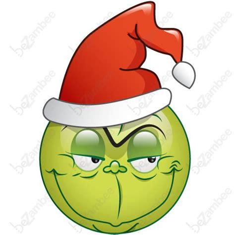 Printable Christmas Emojis | smileys clipart christmas pencil and in color smileys
