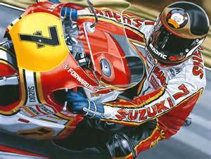 Barry Sheene Suzuki I Vowed I Would Do Everything I Could To By Barry Sheene