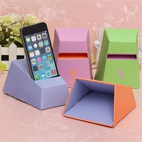 What Can You Make Out Of Recycled Paper - 20 cool and simple diy iphone speaker ideas teenagers