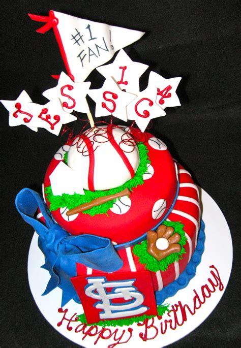 st louis cardinals fans st louis cardinals fan cakecentral com