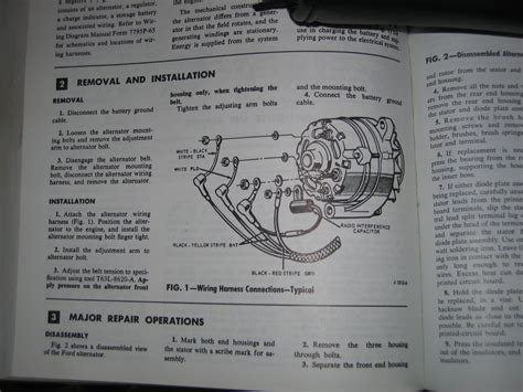 1966 ford mustang alternator wiring wiring diagram with