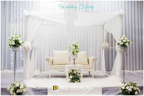 pictures of outdoor wedding decoration in nigeria wedding decor traditional and white wedding ideas