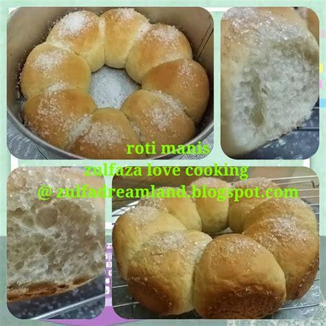 Oven Roti Biasa zulfaza cooking roti manis