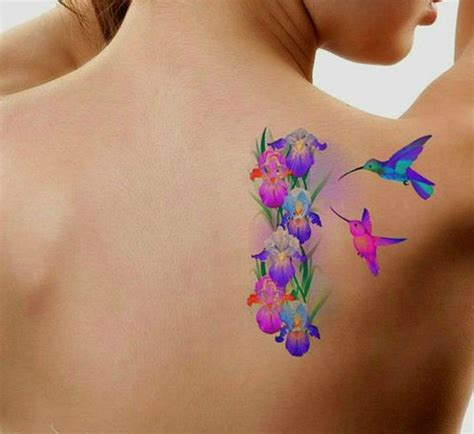 hummingbird tattoos for the playful soul in you