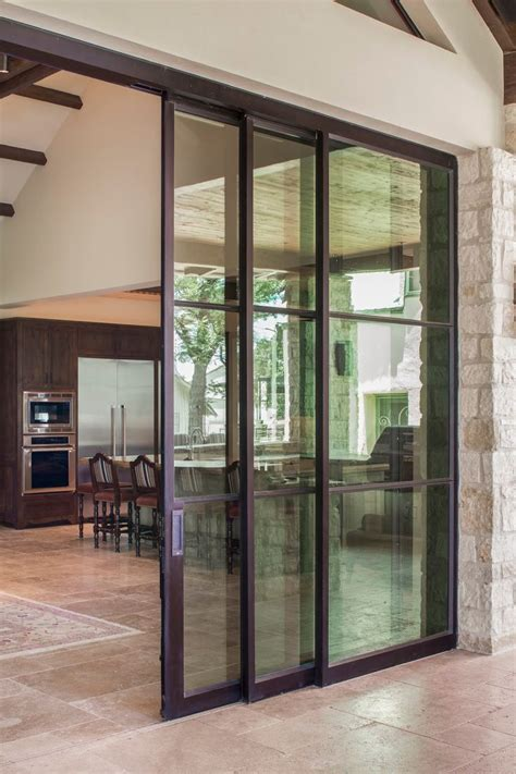 Exterior Sliding Door Doors Extraordinary Exterior Sliding Pocket Doors Sliding Glass Doors That Slide Into The Wall