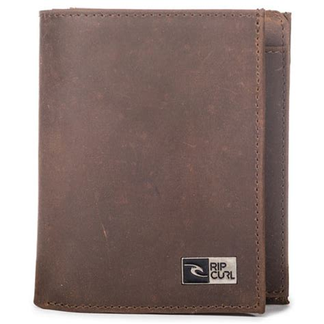 Ripcurl Leather Brown rip curl leather premium mens wallet brown wallets and