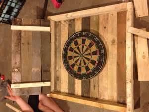 make your pallet dart board cabinet pallets designs