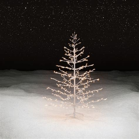 stick christmas trees with lights trimming traditions 5 350clear light stick tree shop your way shopping
