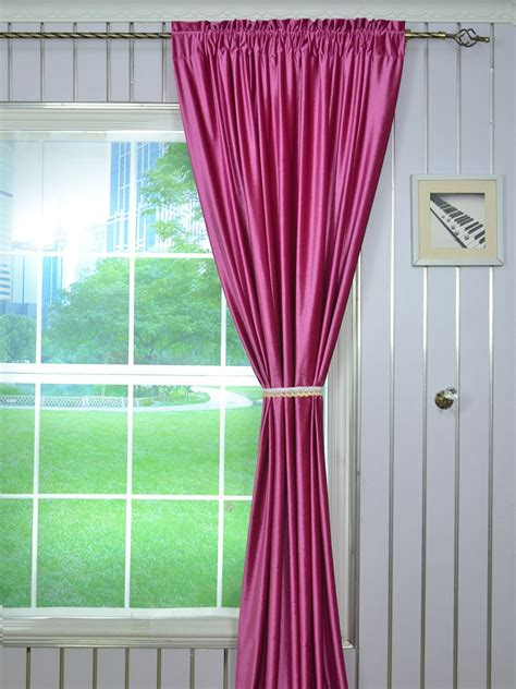 red and purple curtains 63 inch 96 inch whitney pink red and purple blackout