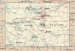 printable map of colorado colorado map