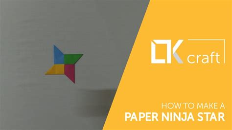 How To Make A Paper Ninga - how to make a paper 4 colors origami toys