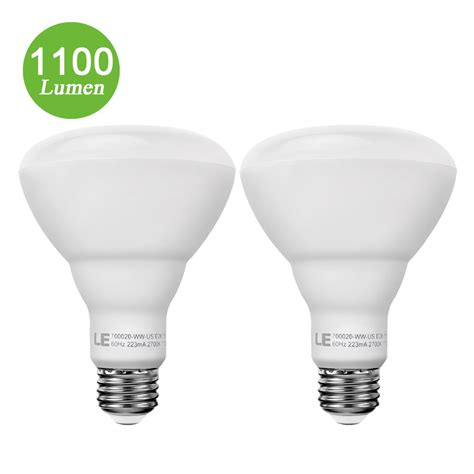 15w Br30 E26 Led Bulbs 1100lm Led Recessed Can Lights Le 174 Led Recessed Lighting Bulbs