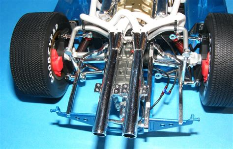 car rear suspension huge high detail trumpeter 1 12th scale ford gt 40 mk ii