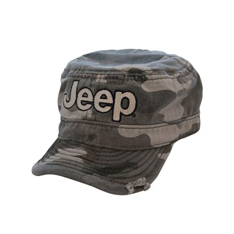 green camo jeep all things jeep jeep logo embroidered cadet hat in green