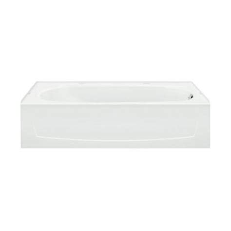 vikrell bathtub sterling performa 5 ft right drain bathtub in white