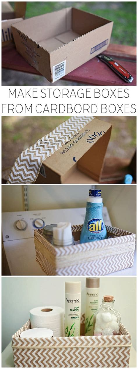how to make decorative cardboard boxes best 25 decorative storage boxes ideas on pinterest