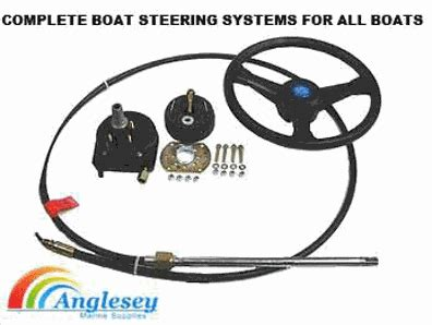 boat steering cable and wheel boat steering cables boat steering wheels boat steering kit