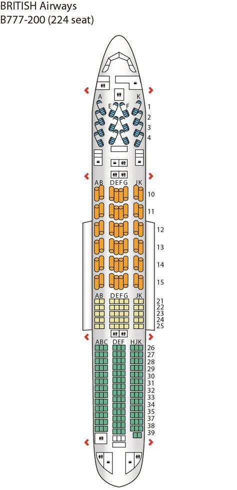 seating plan boeing 777 200 boeing 777 200 seating plan airways