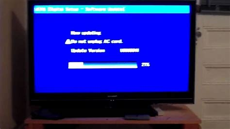 Tv Led Aqua Le32aqt6500 updating the sharp aquos firmware