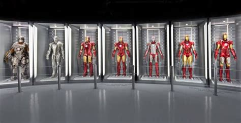 iron man suit collection marvel avengers station