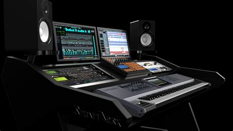 professional recording studio desk virtuoso series studiodesk