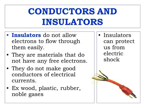 what does electrical conductors current electricity search ppt