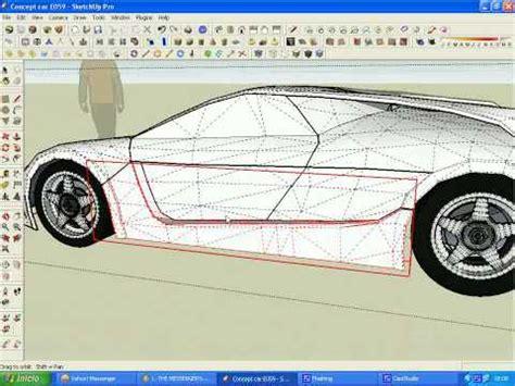 google sketchup car tutorial tutorials google sketchup playlist