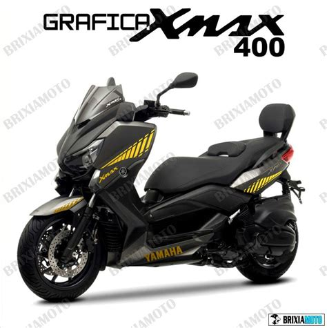 Cowling Yamaha Xmax 250 Original Yellow decal stickers stickers xmax x max 400 fairing gold