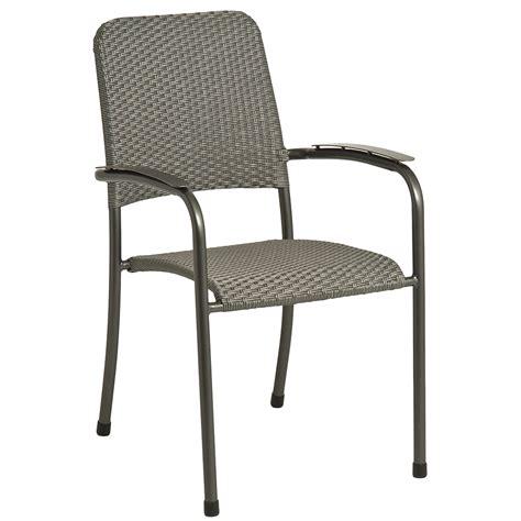 fauteuil empilable portofino en acier et fibre synth 233 tique