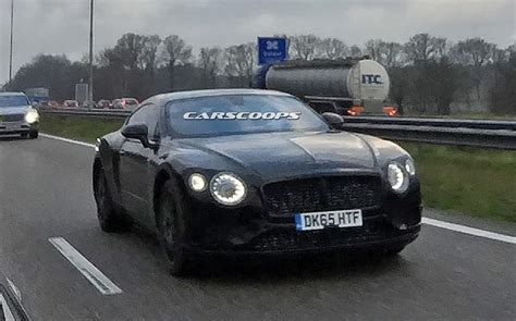 continental bentley all new 2018 bentley continental gt spied for the time