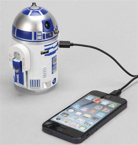 r2 d2 usb car charger 187 gadget flow