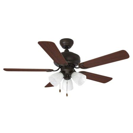 walmart ceiling fan light kit mainstays 44 quot ceiling fan with light kit 17776 walmart com