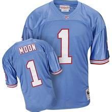 throwback blue warren moon 1 jersey internationa p 166 1000 images about nfl cheap houston oilers jerseys on