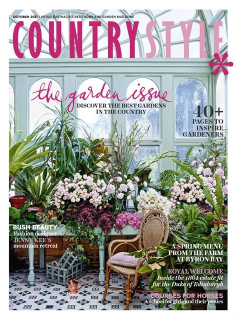 country decor magazines country style magazine subscription magshop