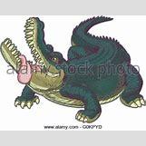 Alligator Mouth Open Drawing | 406 x 320 jpeg 21kB