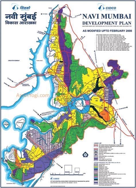 pattern airoli navi mumbai development plan map summary free download