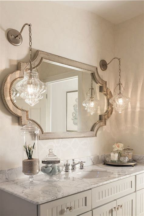 bathroom vanity mirror and light ideas 1000 ideas about feminine bathroom on