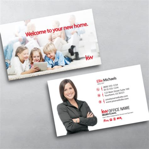 Keller Williams Business Card Templates