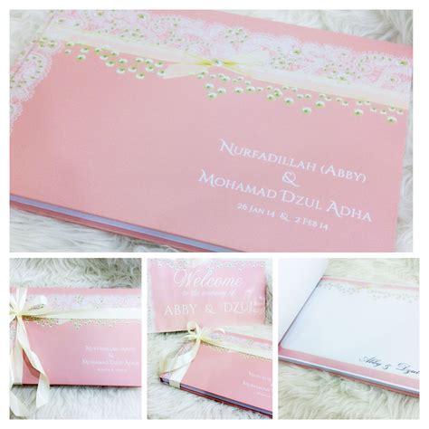 Guest Book Wedding Buku Tamu Custom oh pretty wedding guest book buku tamu