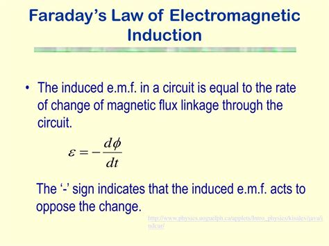 electromagnetic induction faraday ppt electromagnetic induction powerpoint presentation id 228996